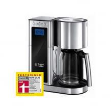 Digitale Edelstahl-Kaffeemaschine mit Schnellheizsystem und programmierbarem Timer
