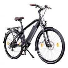 GünstigesTrekking Urban E-Bike, Reichweite ca. 50-120km (ECO Modus 130km)