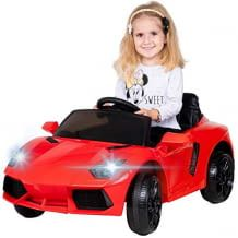 Inklusive Vorder- und Rückwärtsgang, Flügeltüren, Kofferraum und einer Brems-Not-Stop-Automatik. Kann bis zu 6 km/h schnell fahren.