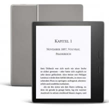 High end eReader with adjustable color temperature of the front light. With waterproof 7 inch Paperwhite display with 300 ppi.