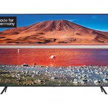Smart TV mit 4k UHD Auflösung, HDR10+, Triple Tuner, UHD Dimming, Auto Game Mode und Streaming-Diensten. Kompatibel mit Alexa und Google Assistant.