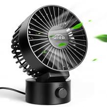 Tragbarer Mini Ventilator mit zwei Geschwindigkeiten und 1,8 Meter USB-Kabel