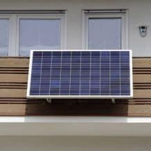 Die universell einsetzbare Plug & Play-Solaranlage ist der einfache und preisgünstige Einstieg in die Solartechnik.