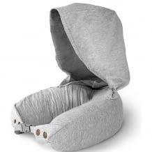 Kapuzen-Nackenkissen für einen erholsamen Schlaf und Ultra-Komfort. Naturlatexfüllung macht das Kissen besonders bequem.