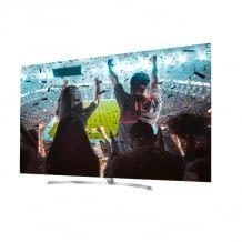 Dieser OLED TV läuft mit dem webOS Betriebssystem und ermöglicht 4K Streaming