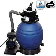 Dieser Filter verfügt über einen robusten, korrosionsfesten Filtertank und ein verstärktes Kunststoffgehäuses für Langlebigkeit, filtert bis zu 11.000 Liter pro Stunde.