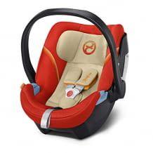 Sichere Babyschale für Kinder bis 18 Monate. Inkl. Neugeborenen-Einlage und integriertem Seitenaufprallschutz.