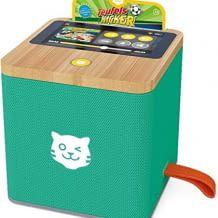 Hörspiel-Streamingbox für Kinder. Inkl. kostenlosem Zugang zur großen Online-Hörspielwelt. Hohe Datensicherheit.