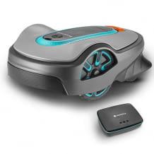 Smarter Mähroboter für Rasenflächen bis 750 qm. Inkl. Smart Gateway, intelligentem System und Steuerung per App.
