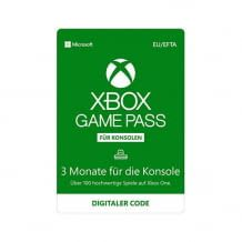 Xbox Game Pass für Xbox für 3 Monate mit über 100 Games, Blockbustern und neuen Exklusivtiteln.