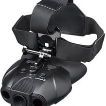 Nachtsichtgerät mit 70 m Reichweite und 7 stufiger Infrarotbeleuchtung, inkl. gepolstertem Schultergurt und Kopfhalterung