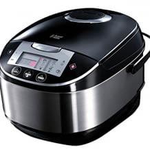 Inklusive digitalem Display und Timer. Verfügt über 11 Kochprogramme und einen Anti-Kondensations-Deckel.