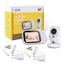 3,2 Zoll Baby Monitor mit TFT LCD-Bildschirm, Nachtsichtkamera und Temperaturüberwachung