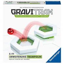 GraviTrax macht die Schwerkraft spielerisch erlebbar. Mit zwei Trampolin Action-Steinen und zwei Höhenstein-Winkeln. Für Kinder ab 8 Jahren.