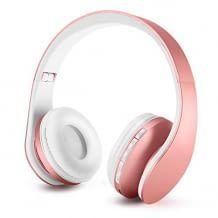 Wireless Kopfhörer aus hochwertigem Polycarbonat. Große Unterhaltung mit guter Soundqualität. Platzsparend.