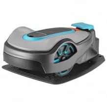 Geräuscharmer Mähroboter für Rasenflächen bis 750 qm. Inkl. Easy-Passage-Funktion. Schafft Steigungen bis zu 30 Prozent.