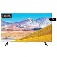 UHD Fernseher mit 4k Upscaling dank Crystal Prozessor, Sprachsteuerung und Ambient Mode.