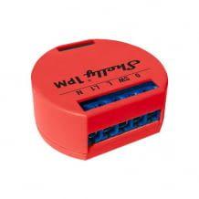 WiFi-betriebener Relais-Schalter mit eingebettetem Webserver und Energie-Verbrauchsmessung.