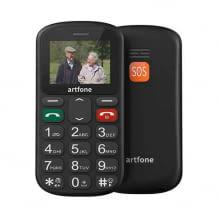 Seniorenhandy mit Dual SIM, großen Tasten und SOS Knopf. Leicht zu bedienen und ohne Vertrag.