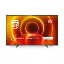 Unsere Redaktionsempfehlung: 55 Zoll TV mit Philips Ambilight, Dolby Vision, Dolby Atmos und integrierter Alexa.
