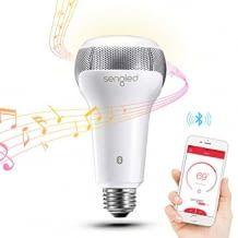 Dimmbare LED-Lampe - steuerbar via App oder Amazon Alexa, auch zum kabellosen Abspielen von Musik geeignet