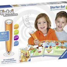 tiptoi Starter Set. Spielerisches Lernbuch mit vielen Liedern und Geräuschen und innovativem tiptoi-Stift mit Aufnahmefunktion.