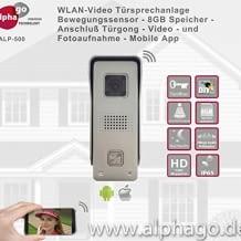 Alphago WLAN VIDEO TÜRSPRECHANLAGE  ALP-500