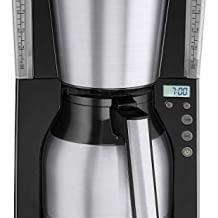 Filterkaffeemaschine mit Thermoskanne LED-Anzeige und Timer-Funktion, für ca. 10 Tassen