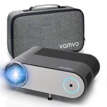 Mini Beamer mit 720p HD-Auflösung, Stereo-Sound und Transportporttasche. Für anspruchsvollere Movie-Fans.