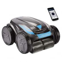 Poolroboter mit exklusiver Zodiac Vortex-Technologie und Fernbedienung über die Mobile App.
