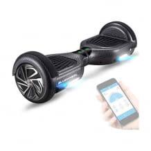 Top ausgestattetes Hoverboard mit vielen Sicherheitsfunktionen und App-Steuerung. Inkl. Bluetooth-Lautsprecher.