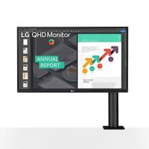 27 Zoll Monitor mit QHD Auflösung und HDR10 Unterstützung. Inkl. Reader Mode mit weniger Blauanteilen.