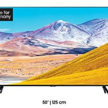UHD LED Fernseher mit 4k Upscaling und Crystal Display.