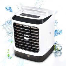 Eine Tankfüllung mit Wasser reicht für 4-6 Stunden Kühlung
