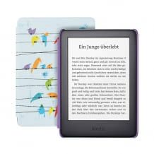 Kindle Kids Edition (10th generation - 2019) with a cheerful, colorful cover and 6-inch display for children from 7 years