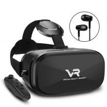 Großes Sichtfeld für eine optimale 360° Rundum-Panrama VR Sicht. Gutes Tragegefühl und einfache Justierung.