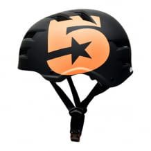 Halbschalenhelm für erhöhten Schutz im unteren Kopfbereich. Hartschale aus Polycarbon mit EPS-Innenschale. Robust und cool.