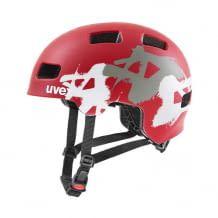 Leichte Helmkonstruktion mit EPS-Innenschicht und Polycarbonat-Außenschicht. Mit aerodynamischem Belüftungs-Design.