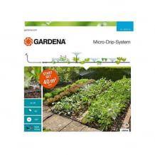 Für die individuelle und flexible Bewässerung von Blumen- und Gemüsebeeten. Einfache Installation und beliebig erweiterbar.