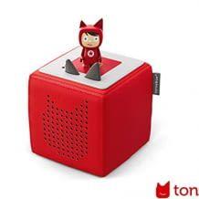 Cleveres, tragbares Audiosystem. Konzipiert für Kinderhände. Mit langer Akkulaufzeit. Inkl. frei bespielbarem Kreativ-Tonie.