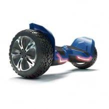 Offroad Hoverboard mit Sicherheitsmodus, starkem Dual Motor und App-Steuerung. Mit Lautsprecher und LEDs.