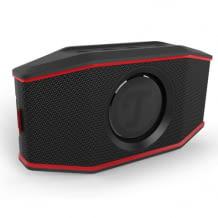 Kompakter und wasserdichter Bluetooth Lautsprecher mit Stereo-Sound und Freisprecheinrichtung. Kompatibel mit zwei Smartphones gleichzeitig.