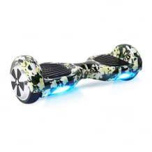Hoverboard mit Bluetooth Lautsprecher, LEDs und Multisicherheitsschutz.