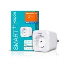 Per Bluetooth steuerbare smarte Steckdose. Kompatibel mit Alexa, Google Assistant und Siri.