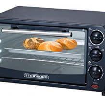 Inklusive Backblech, Grillrost und praktischem Krümelblech. Perfekt fürs Backen, Grillen,Toasten und Auftauen.