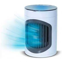 Kompaktes Luftkühlsystem mit 3 Geschwindigkeits- und Kühlungsstufen. Ohne Chemie und mit LED-Nachtlicht.