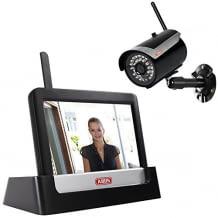 IP66 Außenkamera mit Infrarot Nachtsichtfunktion, bis zu vier Kameras integrierbar, einfach zu montieren