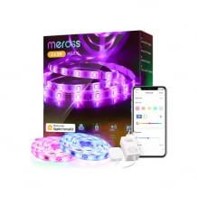 WLAN LED Streifen mit Dimming Funktion, Timer, Fernbedienung und App-Steuerung. Kompatibel mit Alexa, Google und Apple HomeKit.