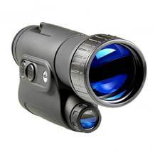 4-fache Vergrößerung mit Restlichtverstärker und IR-Aufheller zeichnen dieses Outdoor Nachtsichtgerät aus