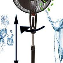 Leistungsstark und hochwertig für frischen Wind. Energiesparend und geräuscharm. Mit 3 Stufen.